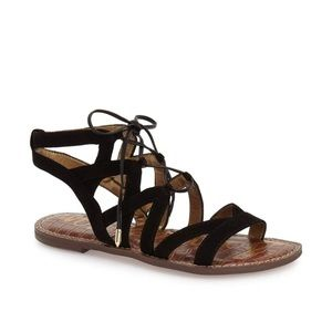 New Sam Edelman Gemma lace-up sandals gladiators